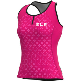 Alé Cycling Solid Helios Tank Top Women, fluo magenta